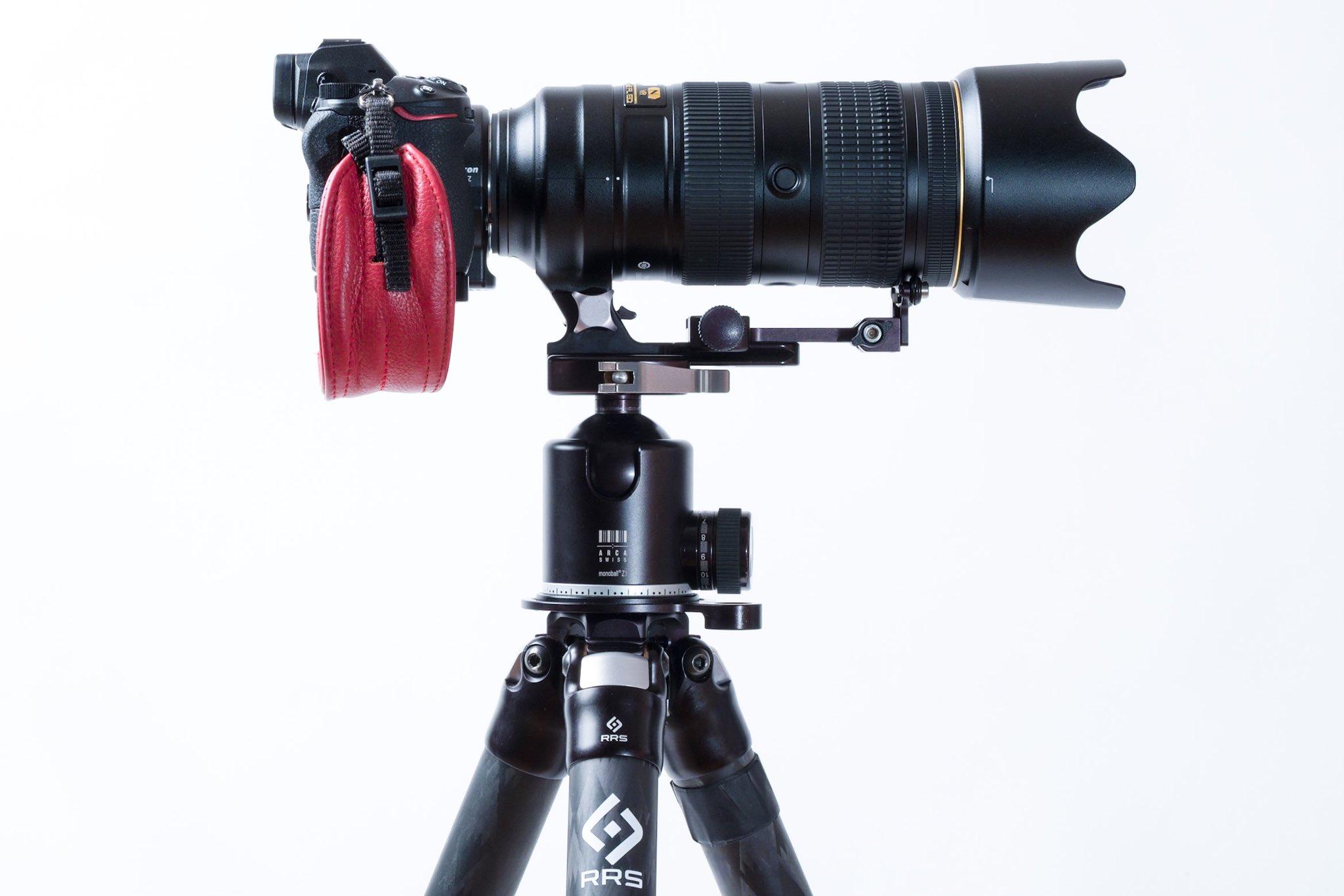 KIRK KES カーク LS-1 LS-2 レンズサポーター 望遠レンズサポーター