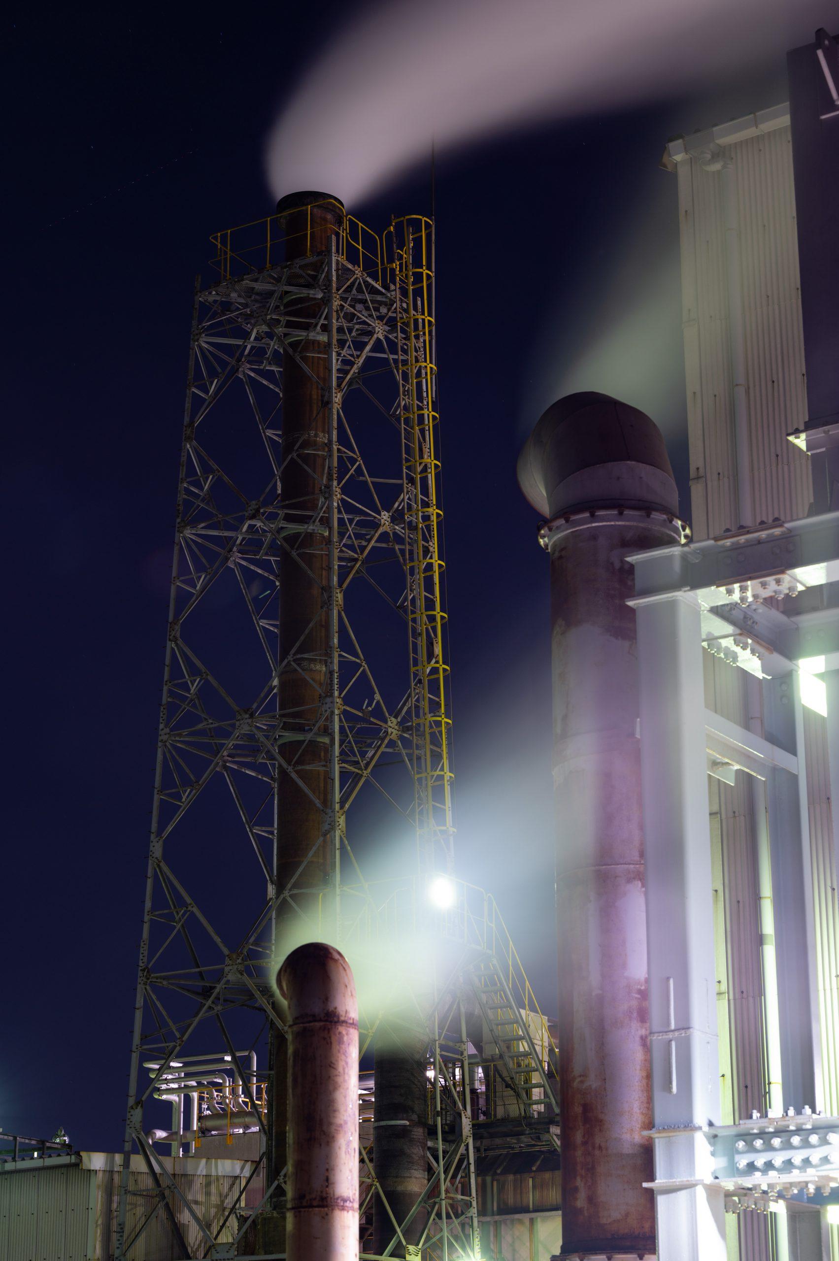 レンゴー 工場夜景