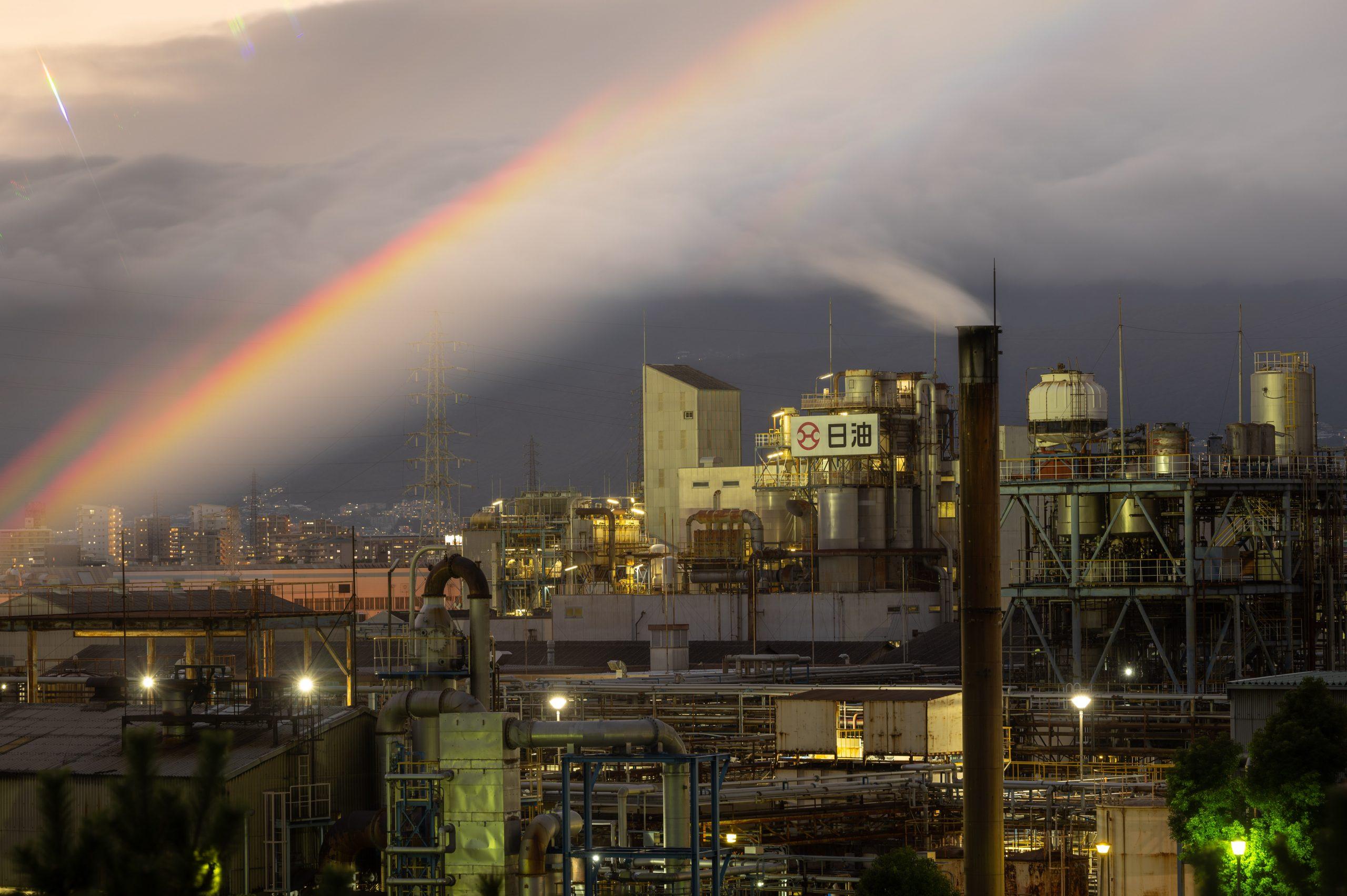 日油 工場夜景